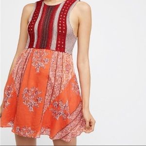NWOT Free People dress. Excellent condition